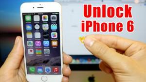 Unlocking iphone 6