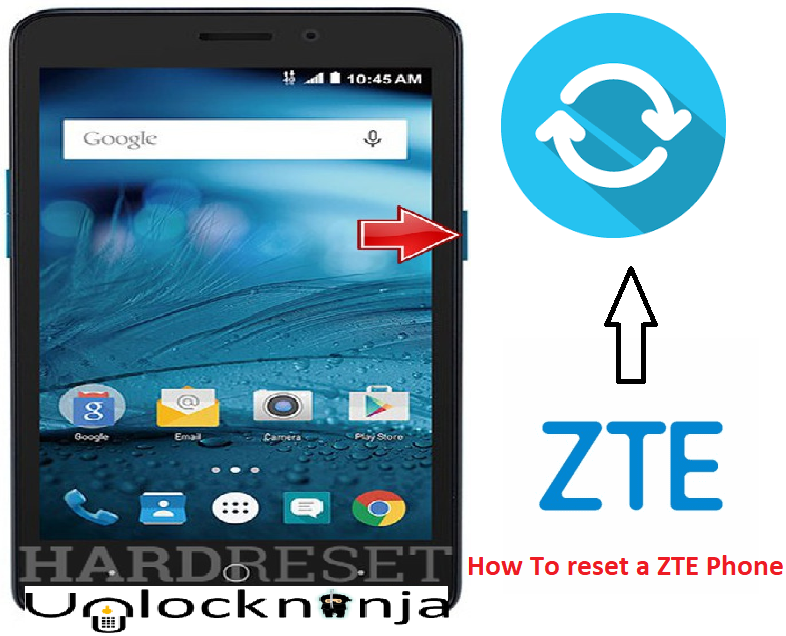 How to Reset ZTE Phone