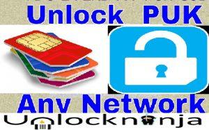 How to Unlock a PUK locked SIM