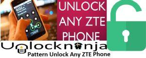 Pattern Unlock ZTE Phone