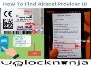 How find Alcatel Provider ID