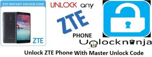 ZTE Master Unlock Code to Use Any Network