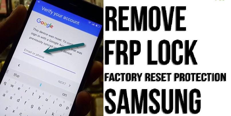 Unlock Google Account on Samsung Phone